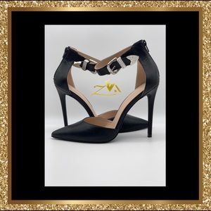 Women's Rion Style D'Orsay Heels w/Ankle Strap